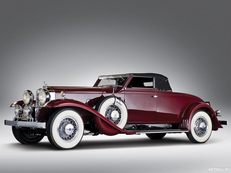 """Постер """"Stutz DV32 Convertible Coupe '1932"""", 27x20 см, на бумаге от Artwall"""