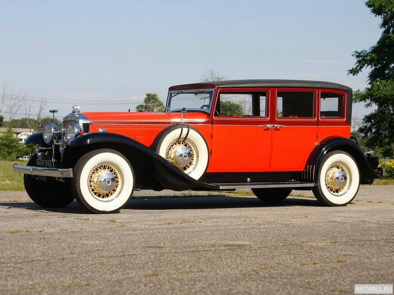 """Постер """"Stutz DV32 Sedan by LeBaron '1933"""", 27x20 см, на бумаге от Artwall"""