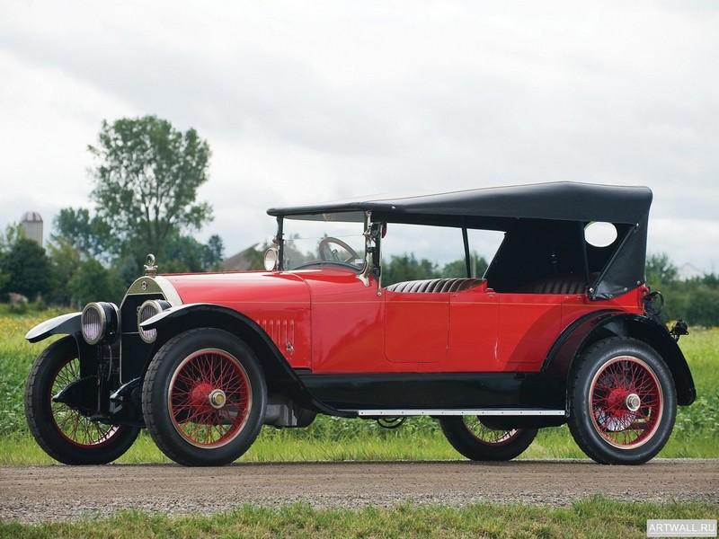 "Постер ""Stutz G Touring '1918"", 27x20 см, на бумаге от Artwall"