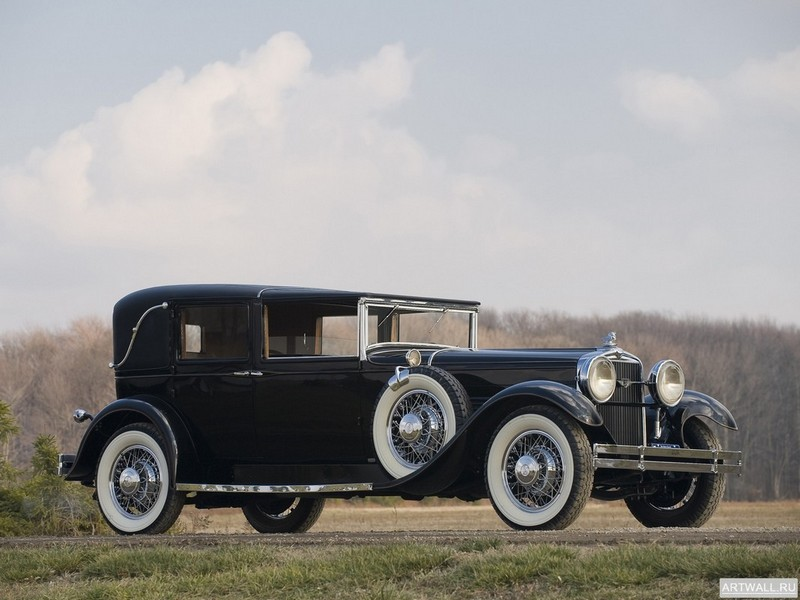 "Постер ""Stutz Model M Vertical Eight Town Car '1929"", 27x20 см, на бумаге от Artwall"