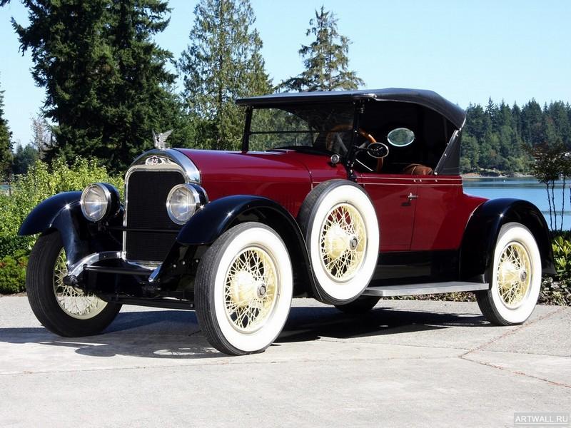 "Постер ""Stutz Special Six Roadster '1923-24"", 27x20 см, на бумаге от Artwall"