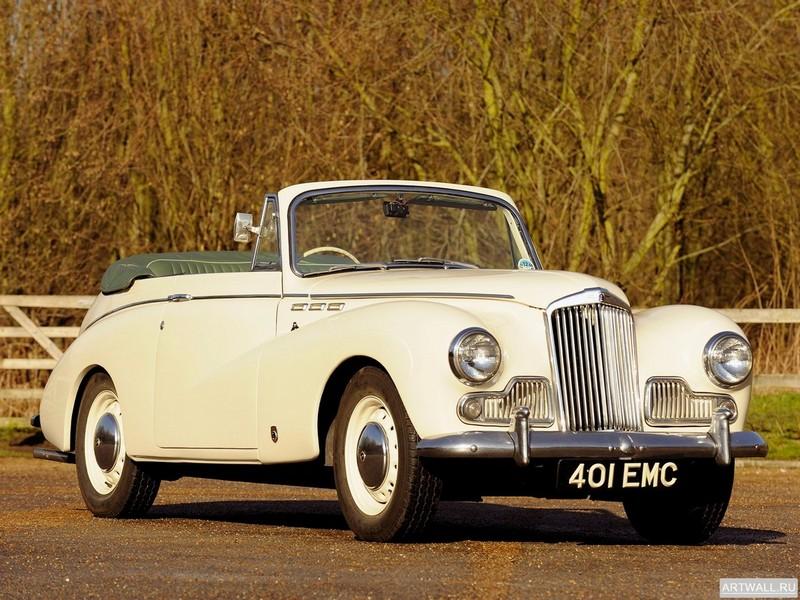 "Постер ""Sunbeam MkIII Convertible Coupe '1954-55"", 27x20 см, на бумаге от Artwall"