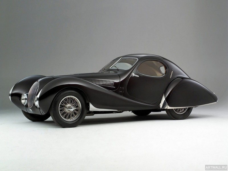 "Постер ""Talbot-Lago T26 GS '1950"", 27x20 см, на бумаге от Artwall"