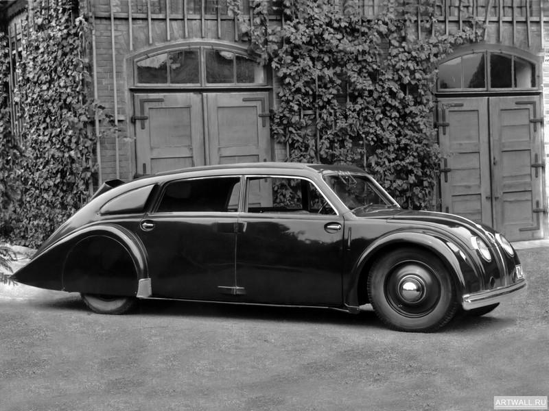 "Постер ""Tatra 77 '1934-35"", 27x20 см, на бумаге от Artwall"