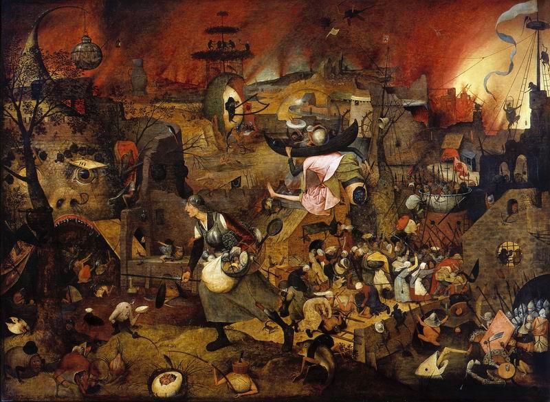 """Художники, картина """"Безумная Грета"""", 27x20 см, на бумаге от Artwall"""