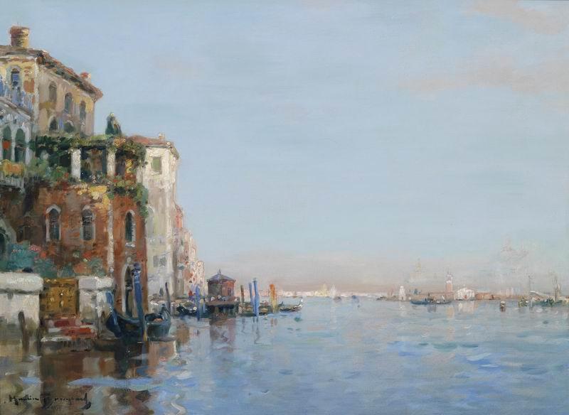 """Пейзажи """"Морис Бомпард """"Венеция"""""""", 27x20 см, на бумаге от Artwall"""