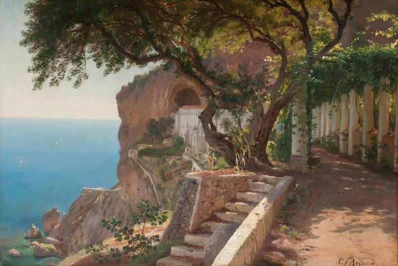 "Пейзажи ""Карл Фредерик Аагард"", 30x20 см, на бумаге от Artwall"