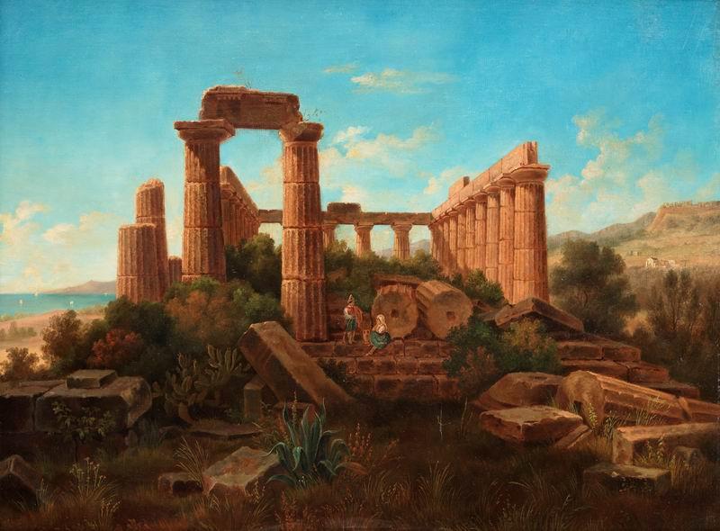 """Пейзажи """"Густав Вильгельм Пальме"""", 27x20 см, на бумаге от Artwall"""