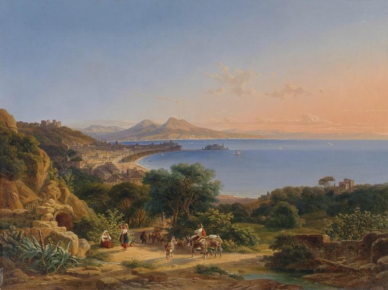 """Пейзажи """"Йохан Отт"""", 27x20 см, на бумаге от Artwall"""