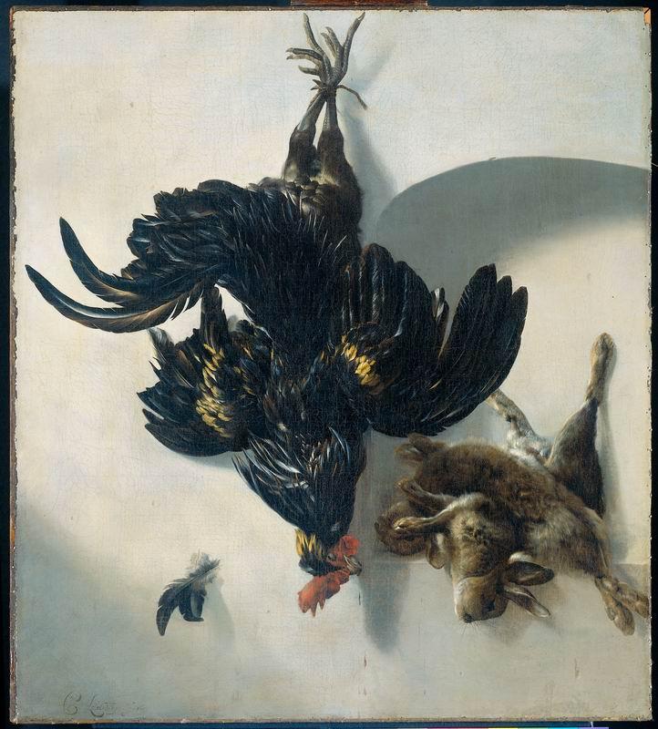 """Искусство, картина """"Корнелис ван Лилиенберг"""", 20x22 см, на бумаге от Artwall"""