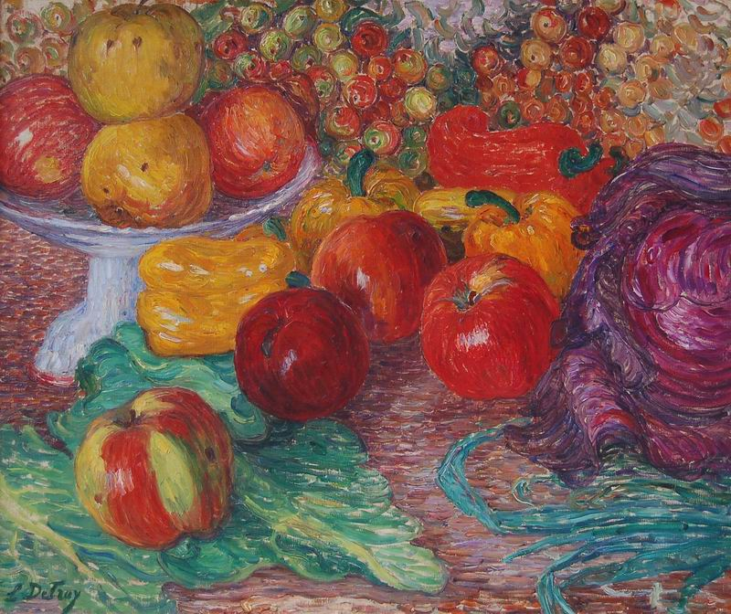 "Искусство, картина ""Леон Детрой"", 24x20 см, на бумаге от Artwall"