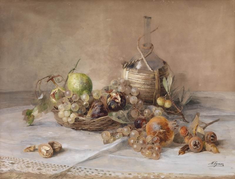 """Искусство, картина """"Мария Эгнер"""", 26x20 см, на бумаге от Artwall"""