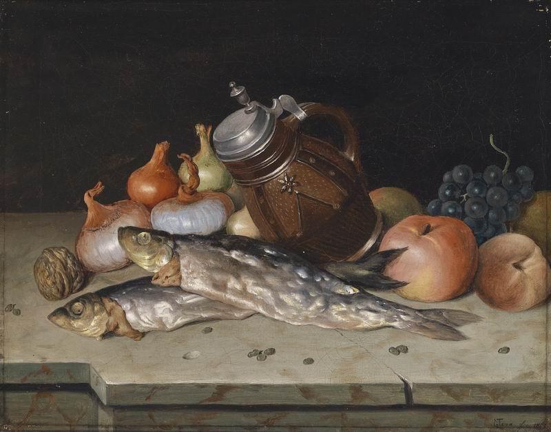 """Искусство, картина """"Маттиас Тома"""", 26x20 см, на бумаге от Artwall"""