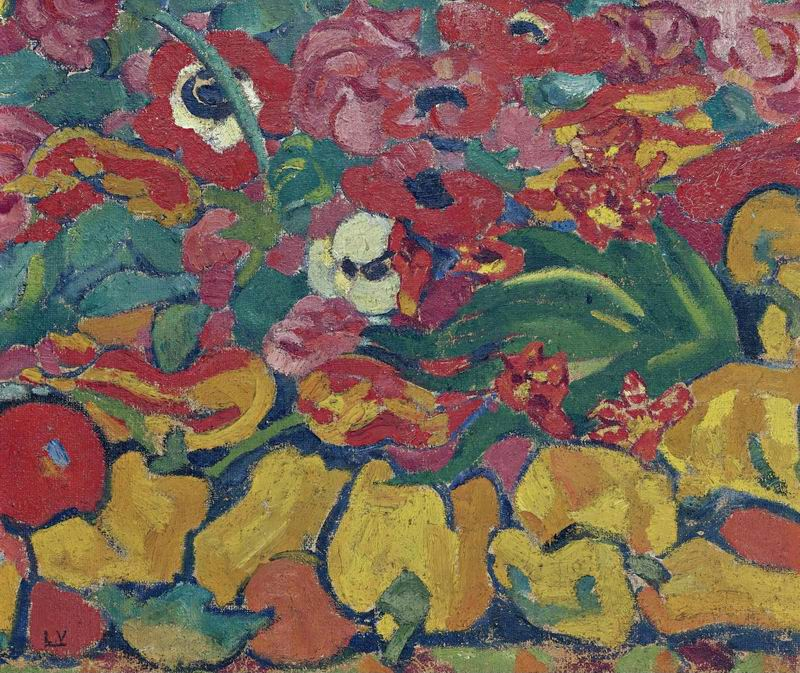 """Художники, картина """"Цветы и фрукты"""", 24x20 см, на бумаге от Artwall"""