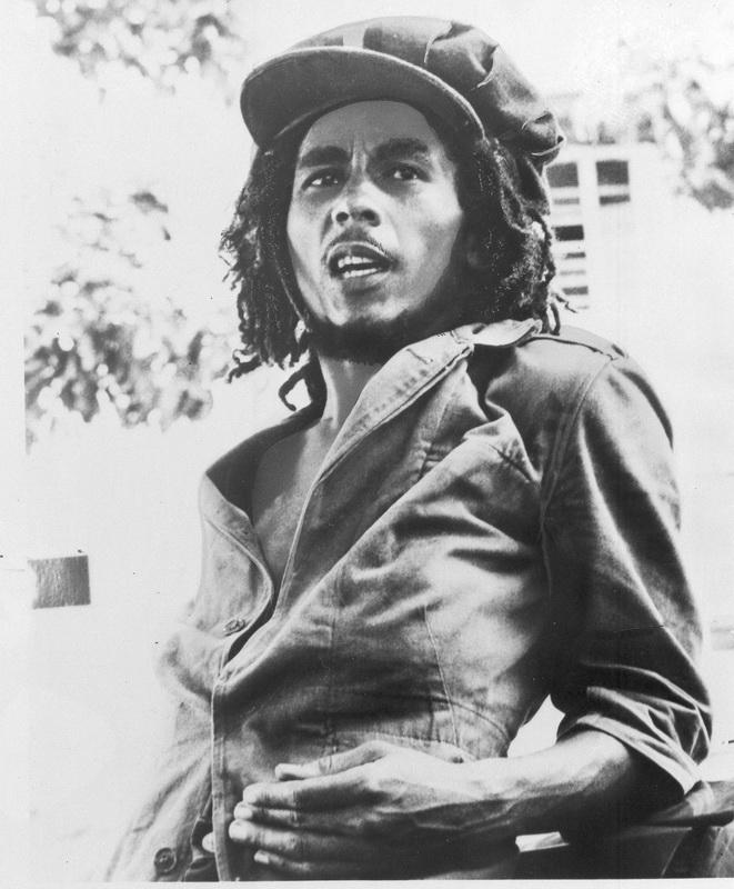 """Постер Фото-постеры """"Портрет Боба Марли 1"""", 20x24 см, на бумаге от Artwall"""