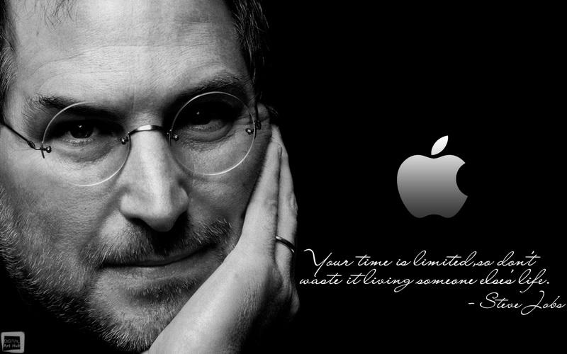 """Постер Фото-постеры """"Портрет Стива Джобса 2"""", 32x20 см, на бумаге от Artwall"""