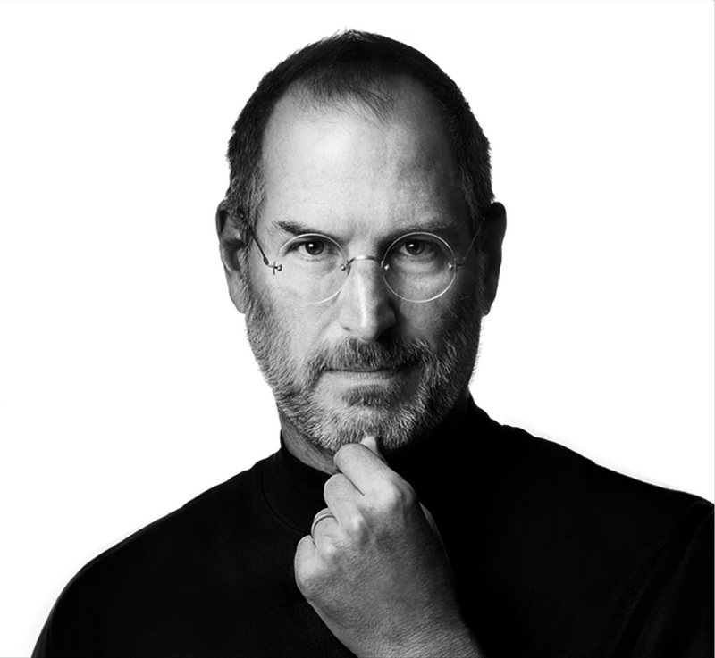 """Постер Фото-постеры """"Портрет Стива Джобса 4"""", 22x20 см, на бумаге от Artwall"""