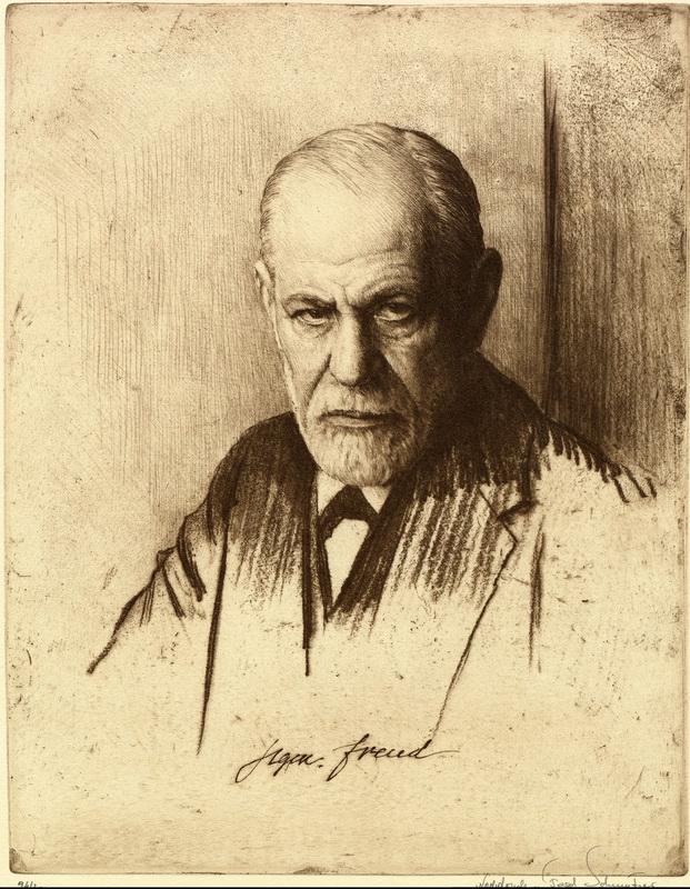 "Постер Фото-постеры ""Портрет Зигмунда Фрейда 2"", 20x26 см, на бумаге от Artwall"