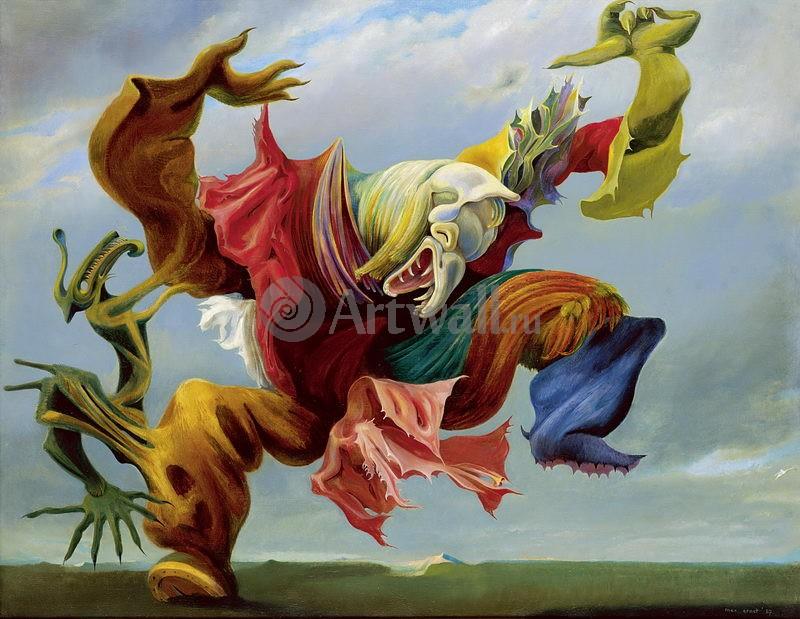 """Художники, картина """"Ангел домашнего очага"""", 26x20 см, на бумаге от Artwall"""