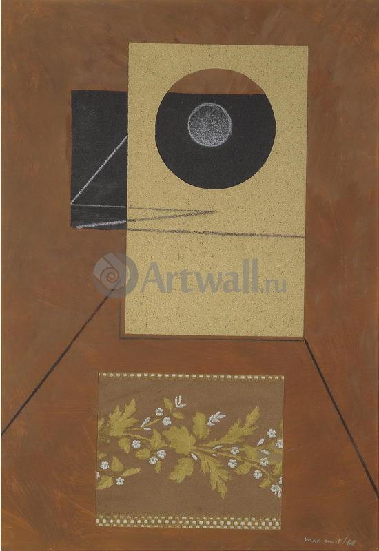 "Художники, картина ""Бюст птицы"", 20x29 см, на бумаге от Artwall"