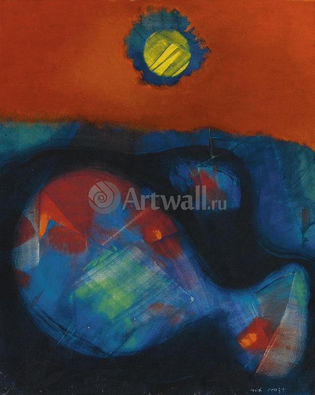 """Художники, картина """"Вверх и вниз"""", 20x25 см, на бумаге от Artwall"""