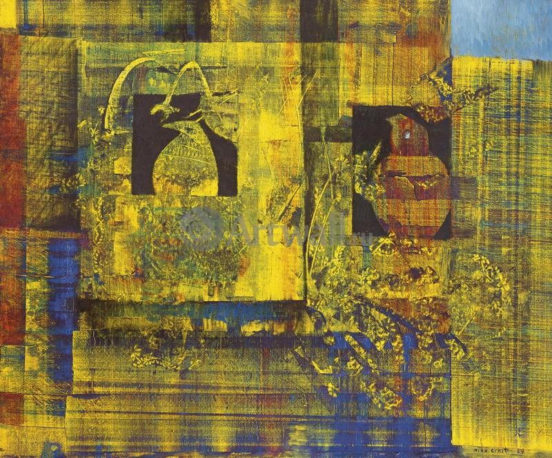 """Художники, картина """"Весенняя картина"""", 24x20 см, на бумаге от Artwall"""