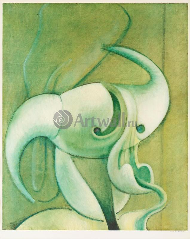 "Художники, картина ""Голова мужчины"", 20x25 см, на бумаге от Artwall"