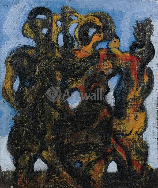 """Художники, картина """"Дикие вещи для очарования II"""", 20x24 см, на бумаге от Artwall"""