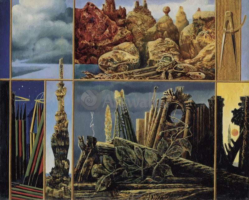 """Художники, картина """"Живопись для юных"""", 25x20 см, на бумаге от Artwall"""