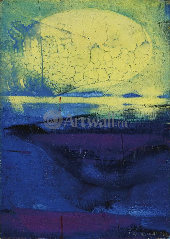 """Художники, картина """"Замаскированное солнце"""", 20x28 см, на бумаге от Artwall"""
