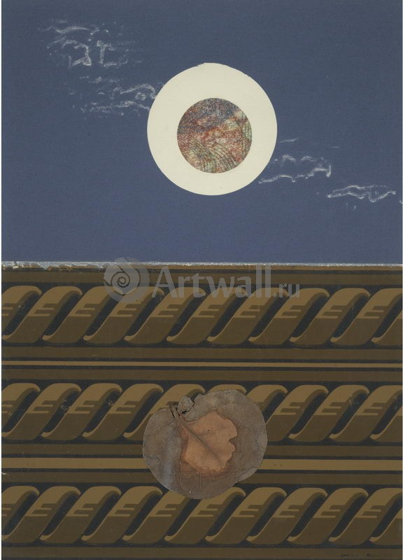 """Художники, картина """"Композиция"""", 20x28 см, на бумаге от Artwall"""