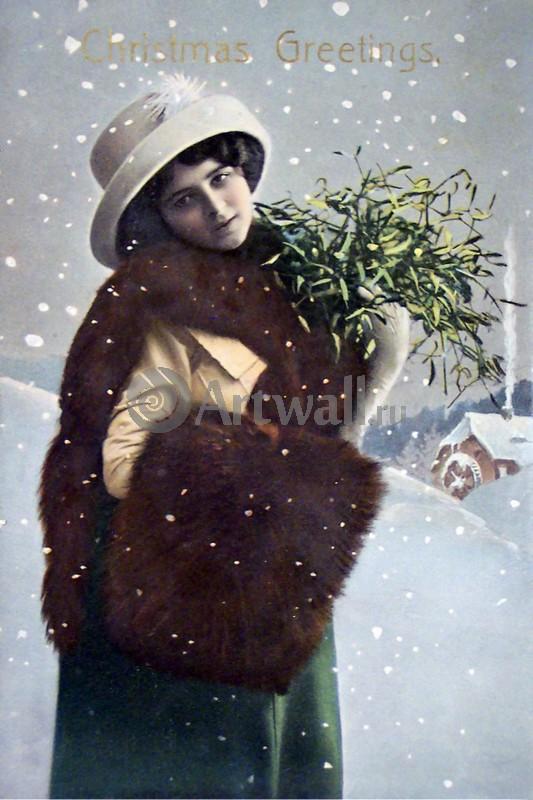 """Постер Праздники """"Постер 36075"""", 20x30 см, на бумаге от Artwall"""