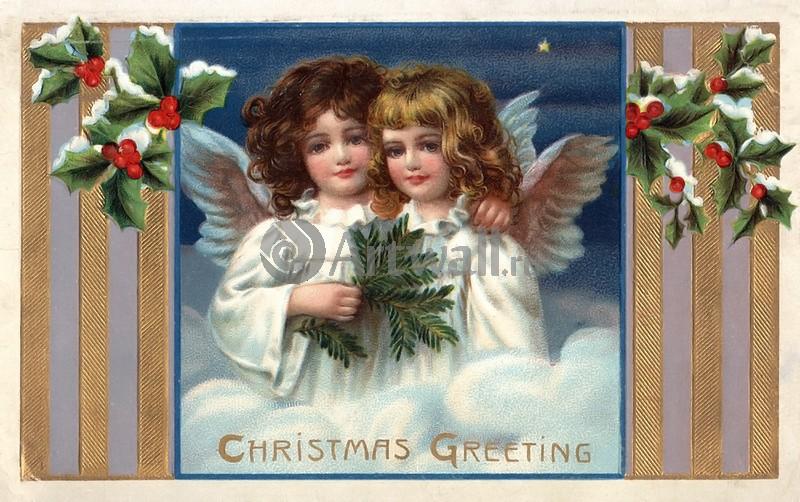 """Постер Праздники """"Постер 36078"""", 32x20 см, на бумаге от Artwall"""