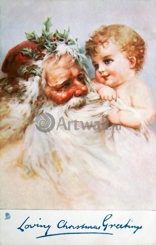 """Постер Праздники """"Постер 36083"""", 20x31 см, на бумаге от Artwall"""