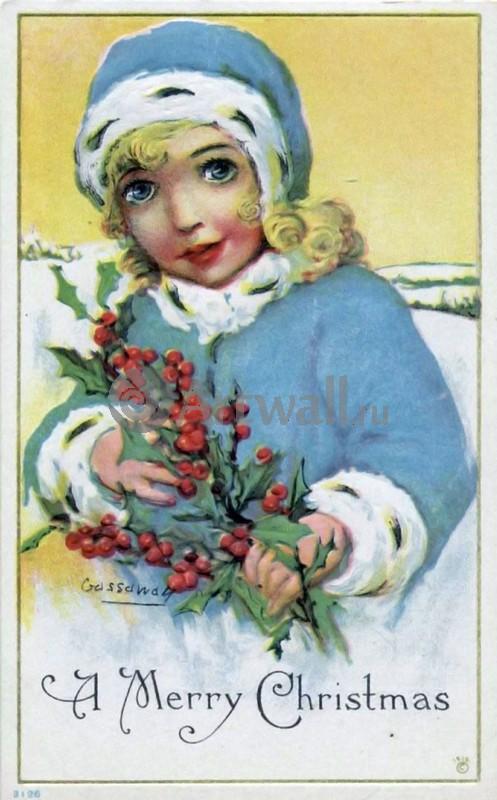 """Постер Праздники """"Постер 36088"""", 20x32 см, на бумаге от Artwall"""