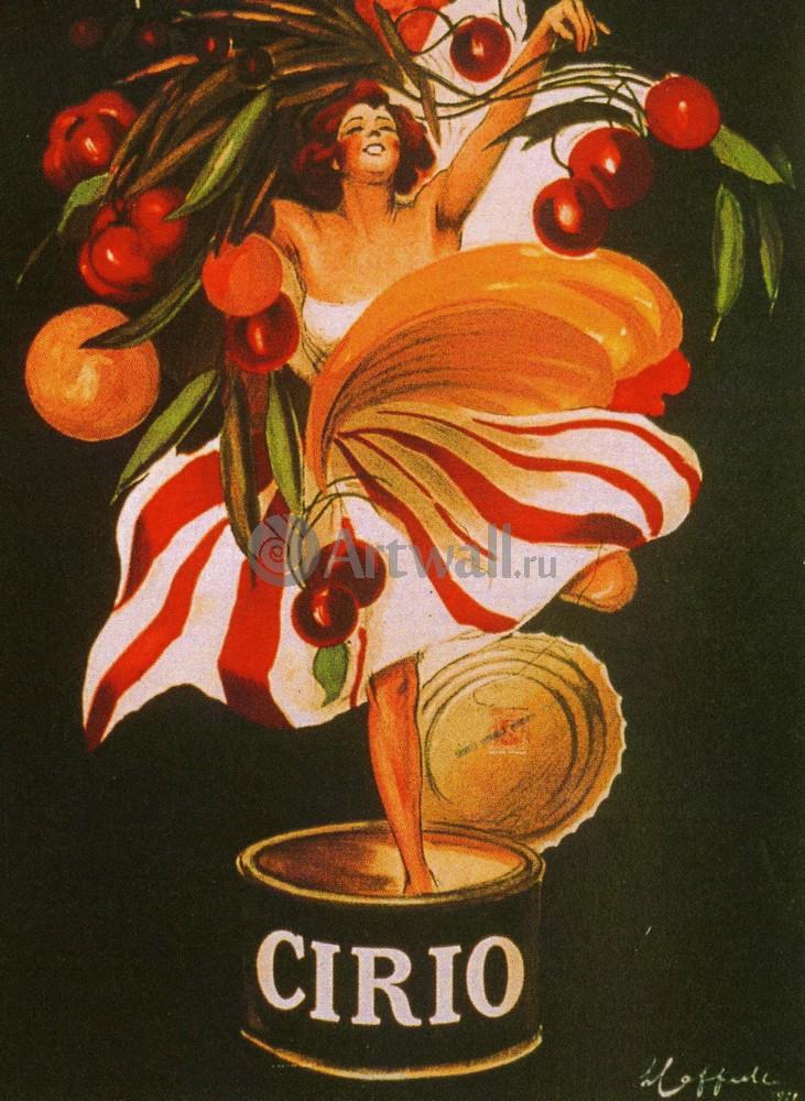 """Плакат Плакат 20 века """"Cirio Foods"""", 20x27 см, на бумаге от Artwall"""