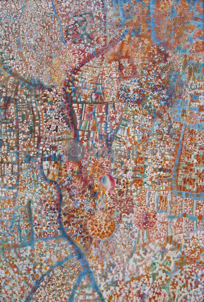 """Художники, картина """"Формула весны"""", 20x30 см, на бумаге от Artwall"""