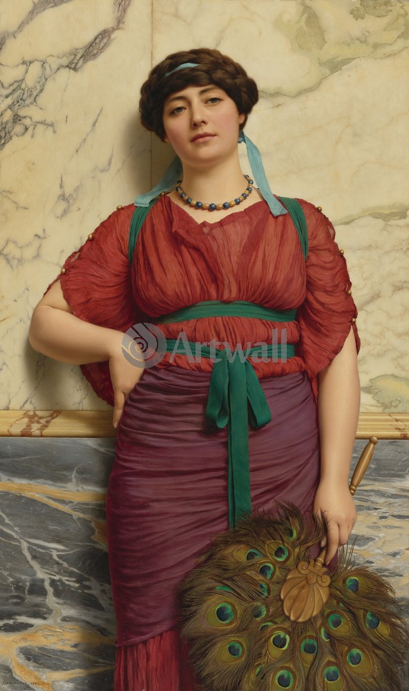"Художники, картина ""Еврипила"", 20x34 см, на бумаге от Artwall"