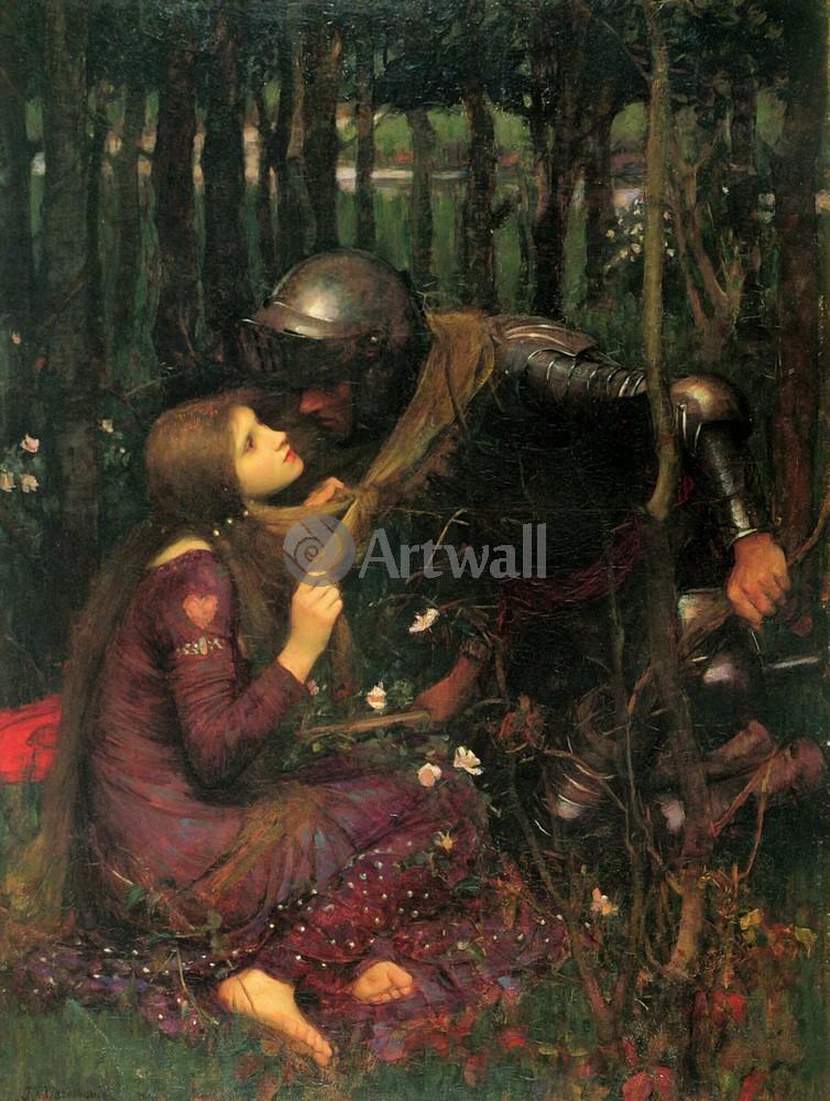 """Художники, картина """"Беспощадная красавица"""", 20x27 см, на бумаге от Artwall"""