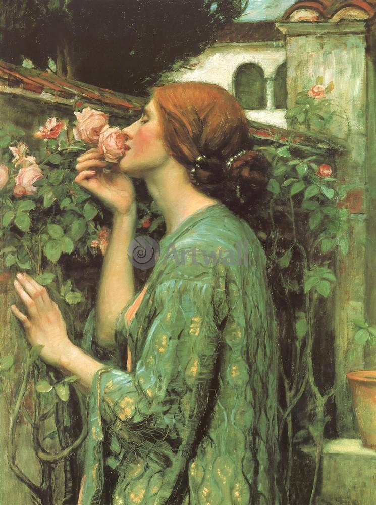 """Художники, картина """"Мои любимые розы"""", 20x27 см, на бумаге от Artwall"""