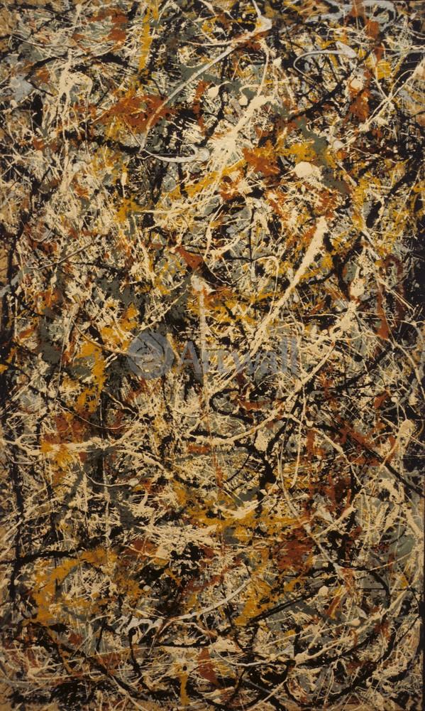 "Художники, картина ""Номер 3"", 20x33 см, на бумаге от Artwall"