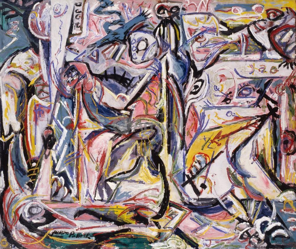 """Художники, картина """"Сретение"""", 24x20 см, на бумаге от Artwall"""