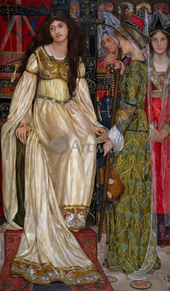 """Искусство, картина """"Банс Кейт Элизабет, Сувенир"""", 20x34 см, на бумаге от Artwall"""
