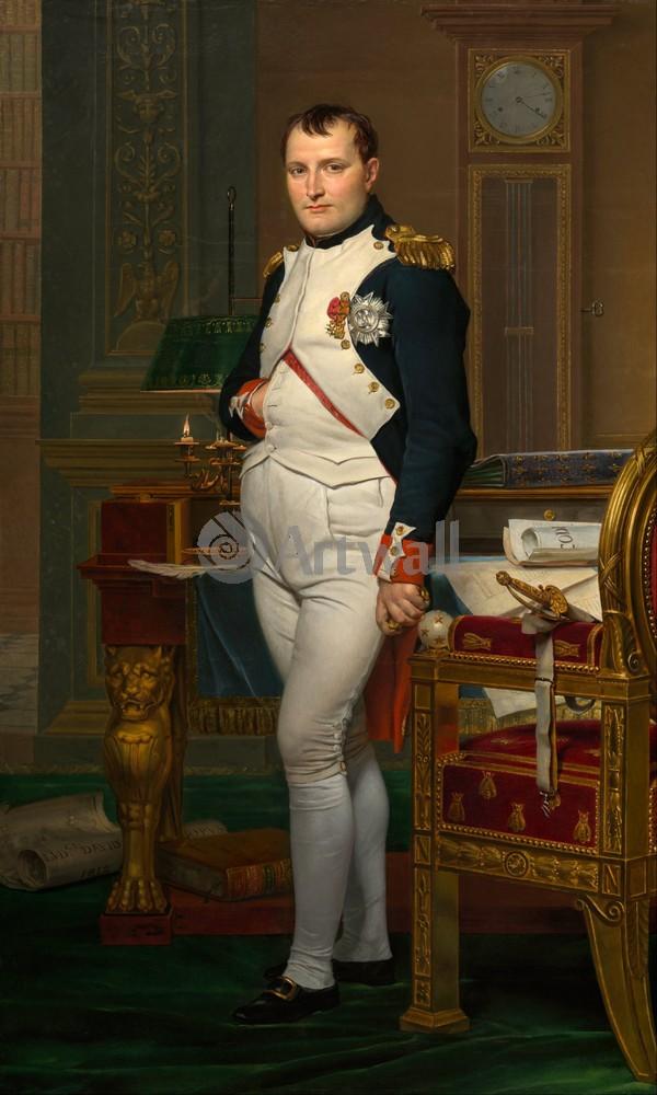 """Художники, картина """"Наполеон в Тюильри"""", 20x33 см, на бумаге от Artwall"""