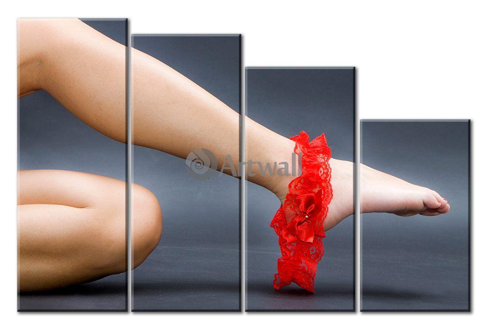 Модульная картина «Подвязка», 74x50 см, модульная картина от Artwall