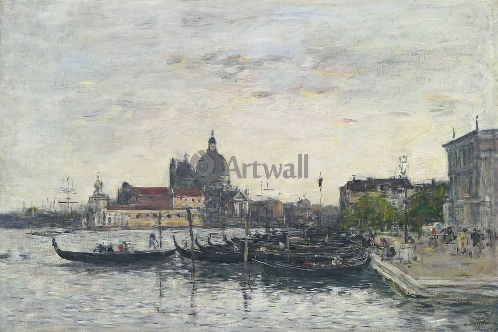 """Художники, картина """"Венеция, Гранд канал утром"""", 30x20 см, на бумаге от Artwall"""