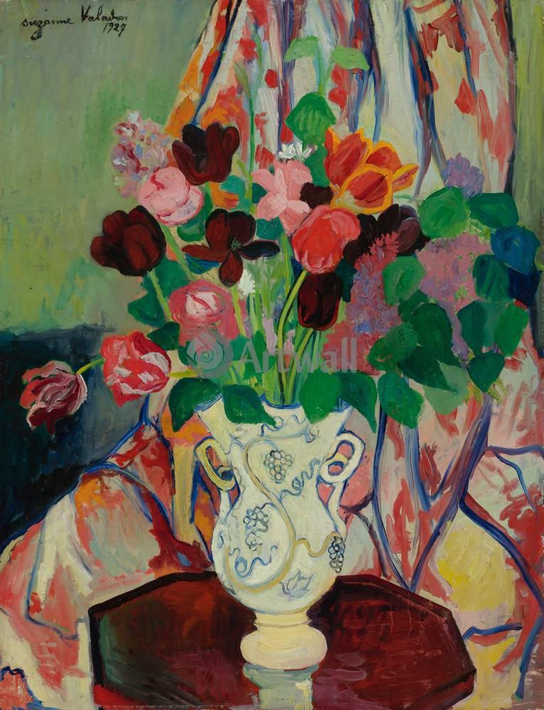 "Художники, картина ""Букет в вазе"", 20x26 см, на бумаге от Artwall"