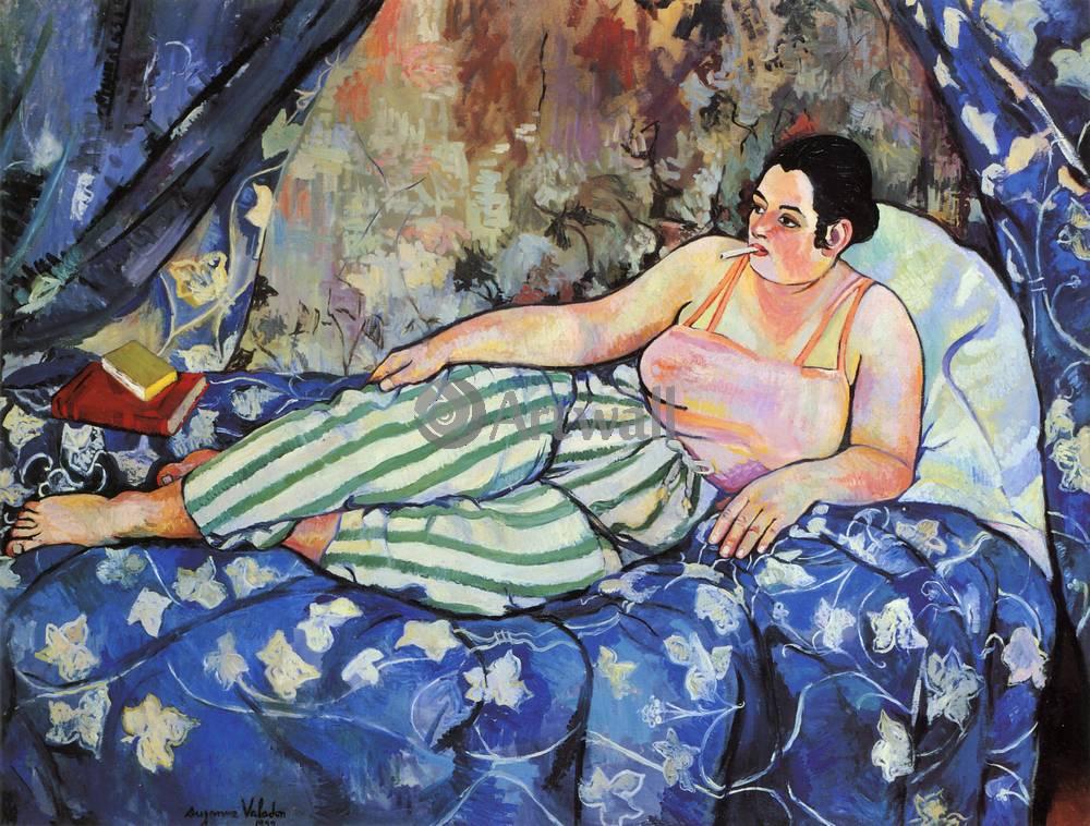 """Художники, картина """"Голубая комната"""", 26x20 см, на бумаге от Artwall"""