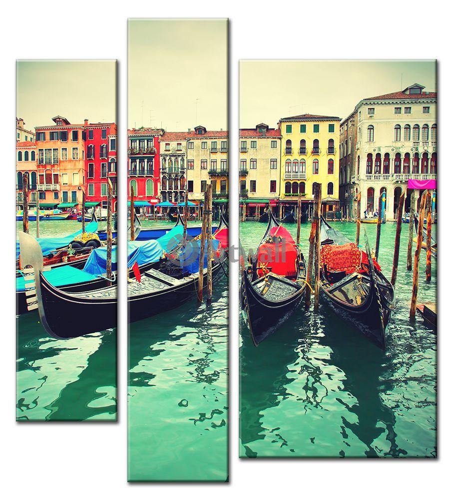 Модульная картина «Венеция», 50x55 см, модульная картина от Artwall