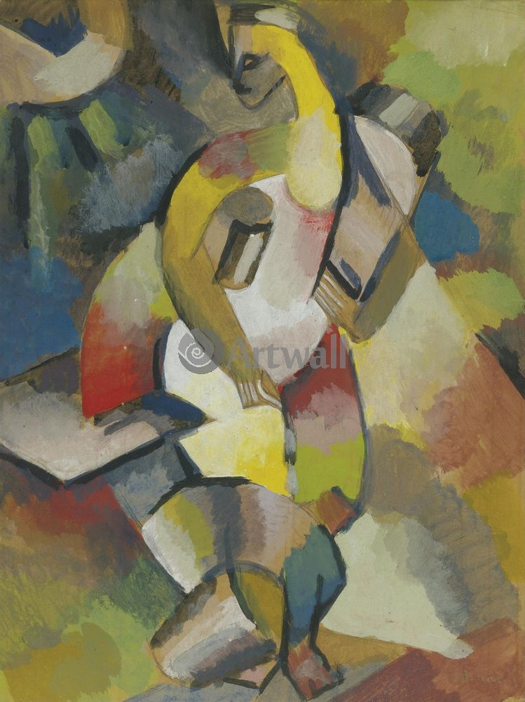 "Художники, картина ""Венера"", 20x27 см, на бумаге от Artwall"